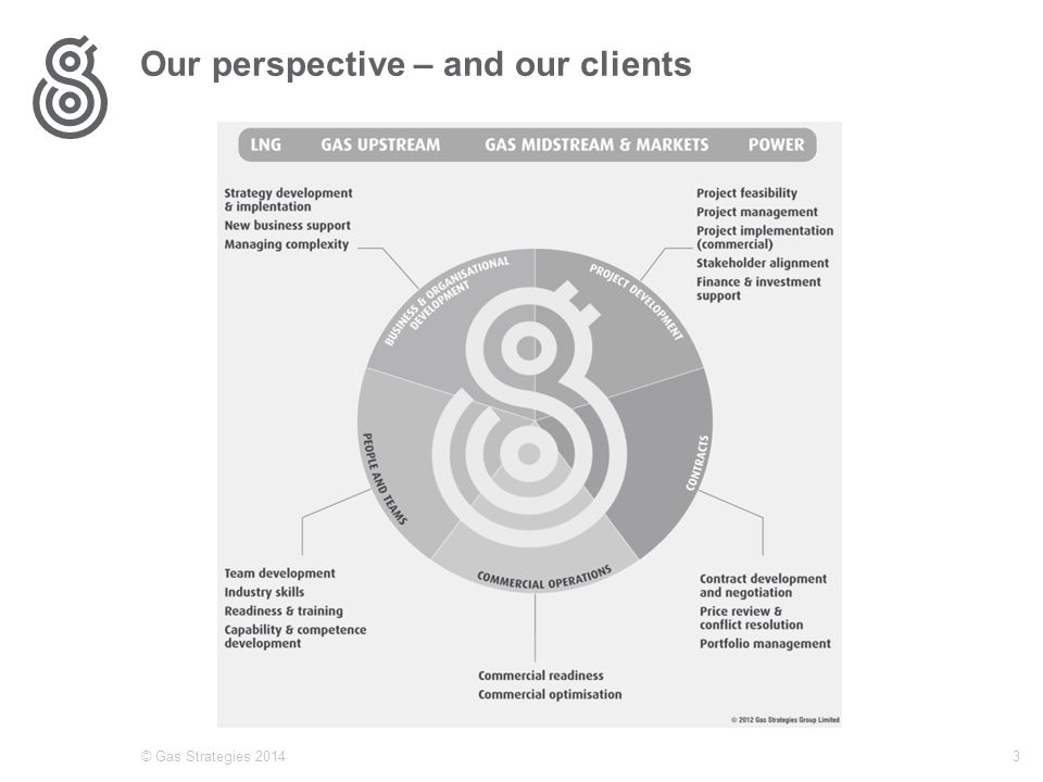 Our perspective – and our clients © Gas Strategies 20143