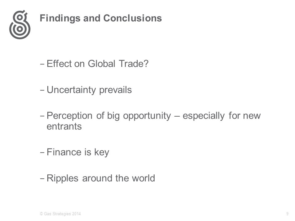 Findings and Conclusions − Effect on Global Trade.