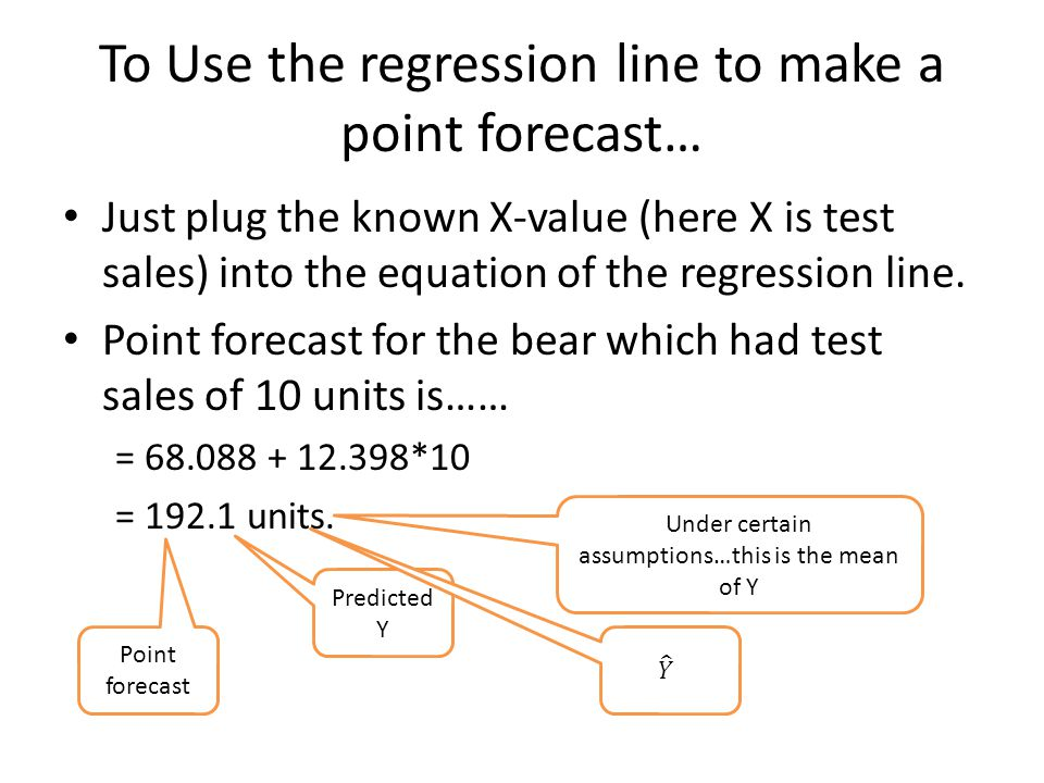 What we covered today What is a regression line.
