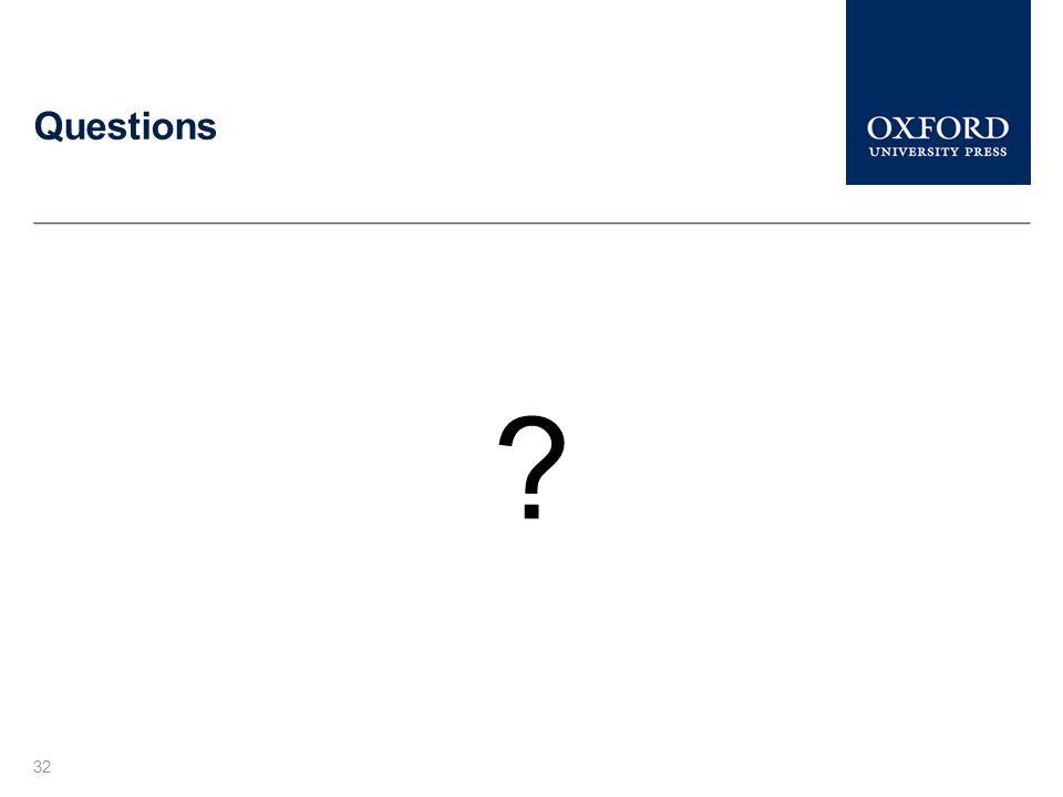 Questions 32 ?