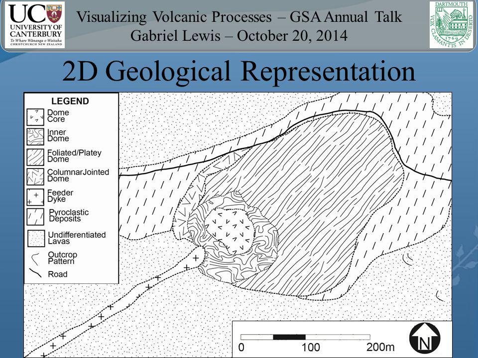 Visualizing Volcanic Processes – GSA Annual Talk Gabriel Lewis – October 20, 2014 3D Geological Representation Video 1