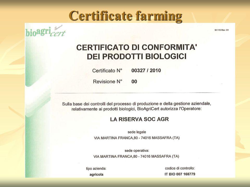 Certificate farming