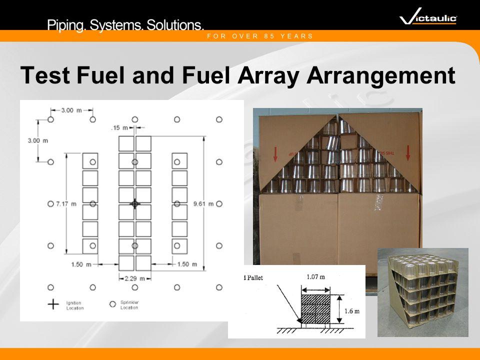 Test Fuel and Fuel Array Arrangement