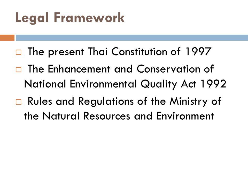 Administrative Court Cases  The Khon Kaen Garbage Disposal Case  The Sakom Case  The Mine Patent Permit Case