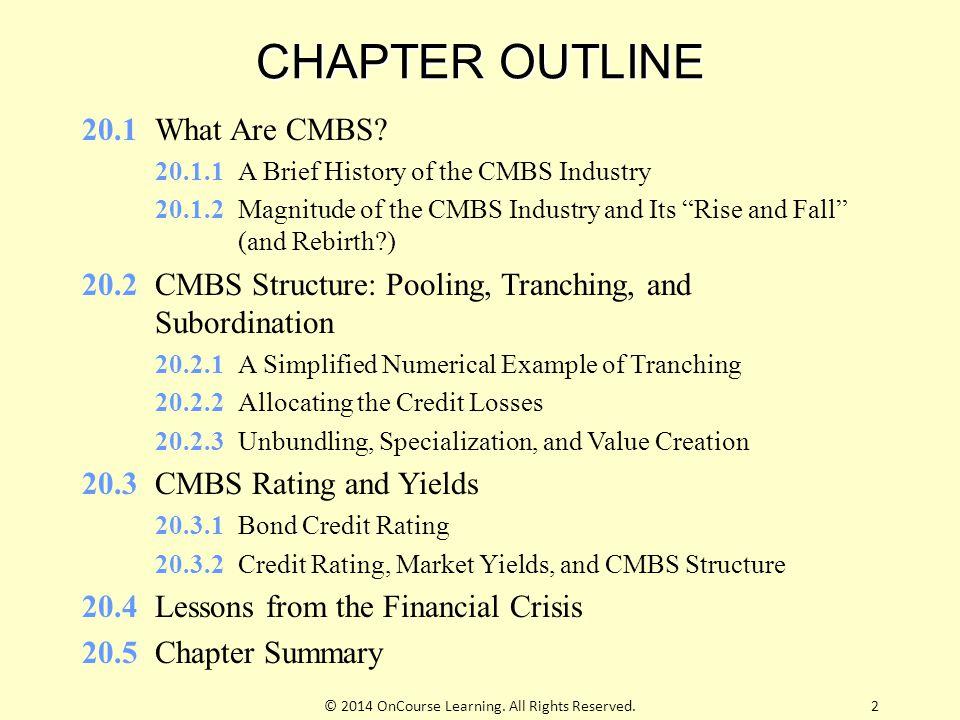 20.2.3 Unbundling, Specialization, & Value Creation Unbundle cash flow sources.
