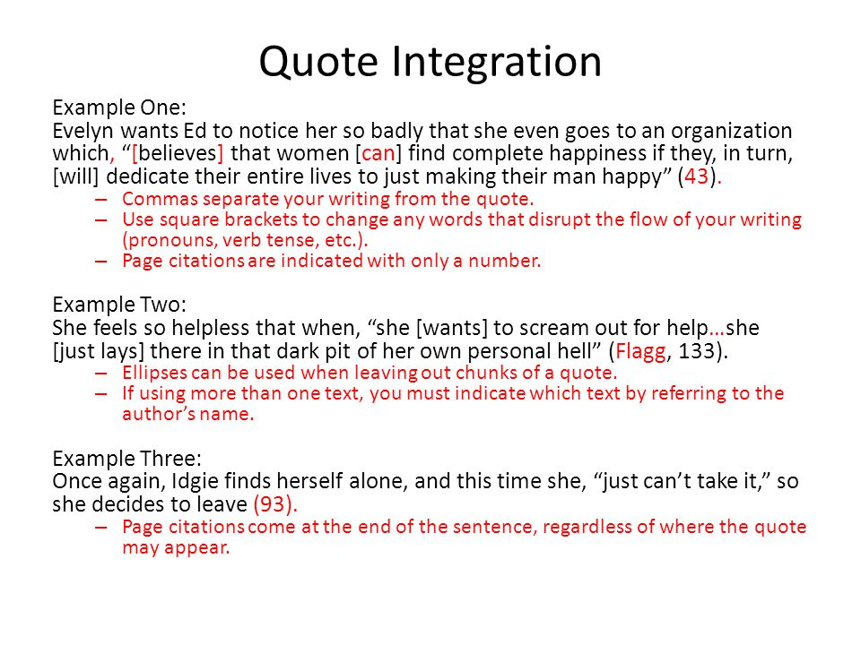 Essay Quote Introduction