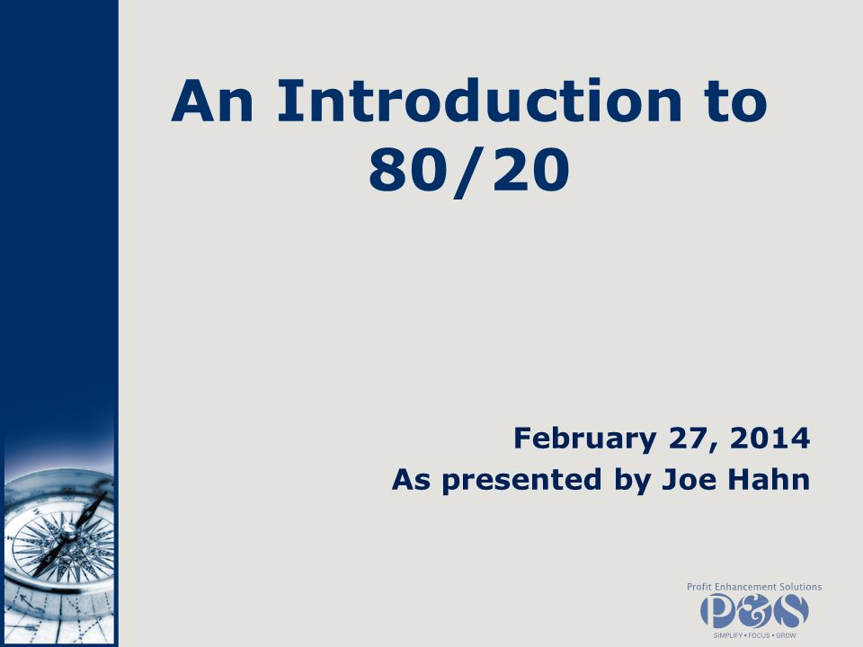 What is 8020.