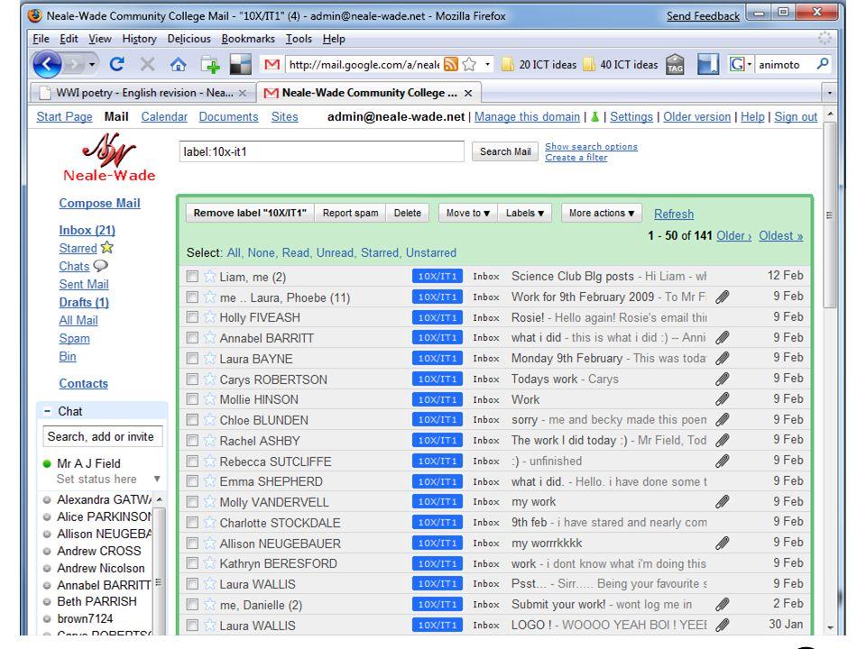 G-mail 1616 http://www.neale-wade.net