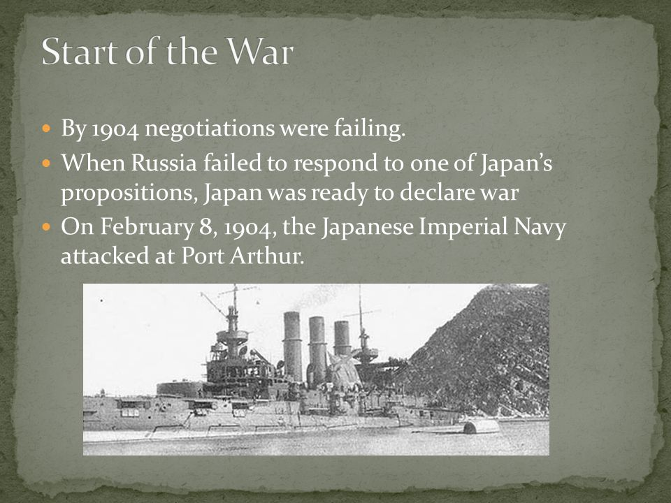 Treaty of Portsmouth Differences: Japan was given control of Manchuria Japan retained only the southern half of Sakhalin Island Overall, adjusted winner closely matched reality