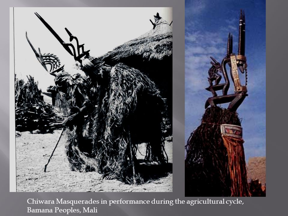 Chiwara Masquerades in performance during the agricultural cycle, Bamana Peoples, Mali