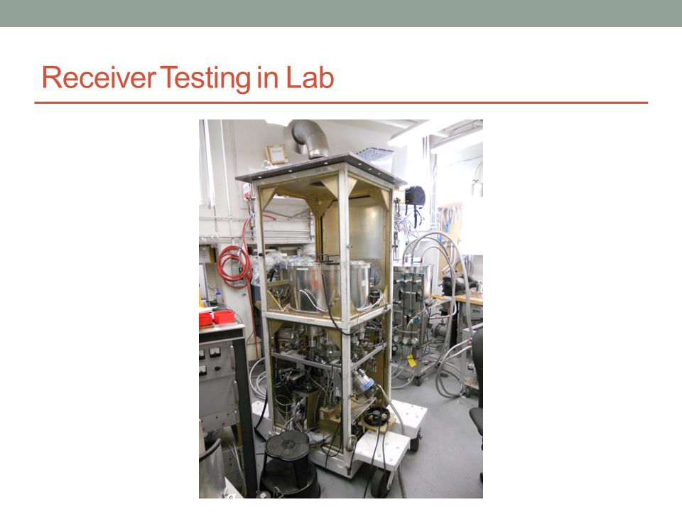 Receiver Testing in Lab