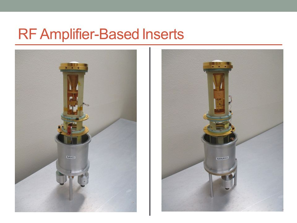 RF Amplifier-Based Inserts