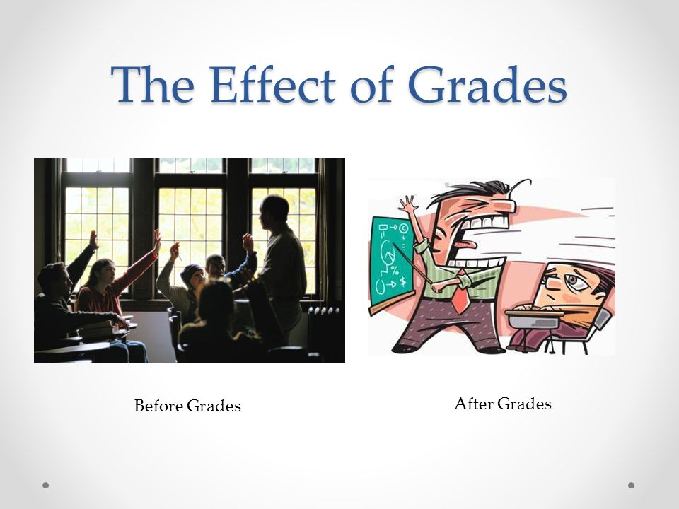 The Effect of Grades After Grades Before Grades
