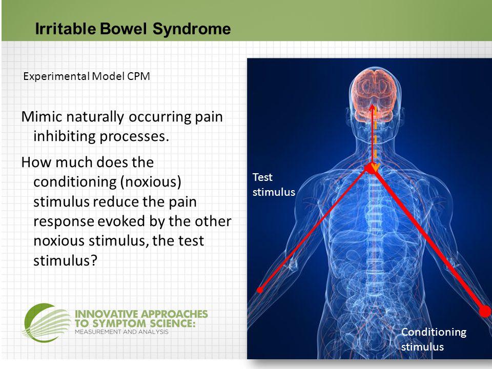 Cortex Thalamus Spinal cord Caudal Medulla Peripheral sensory nerve 10 pain signals 2 1 IBS patients – CPM inefficiency in 3 studies of women