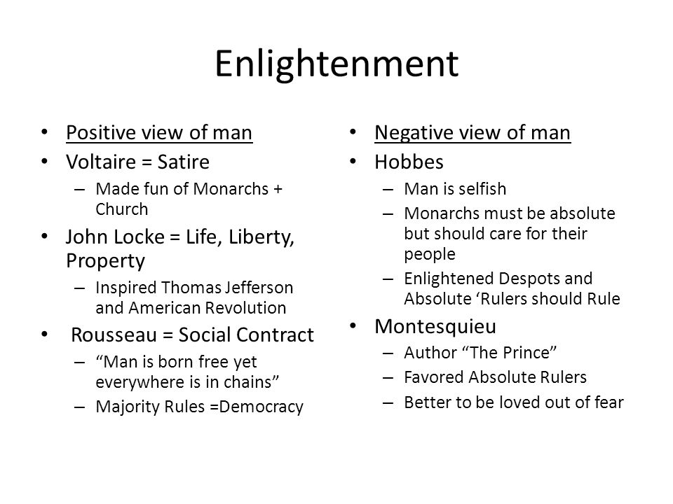 Did the outcome of the French Revolution fail to meet the purpose of the Enlightenment?