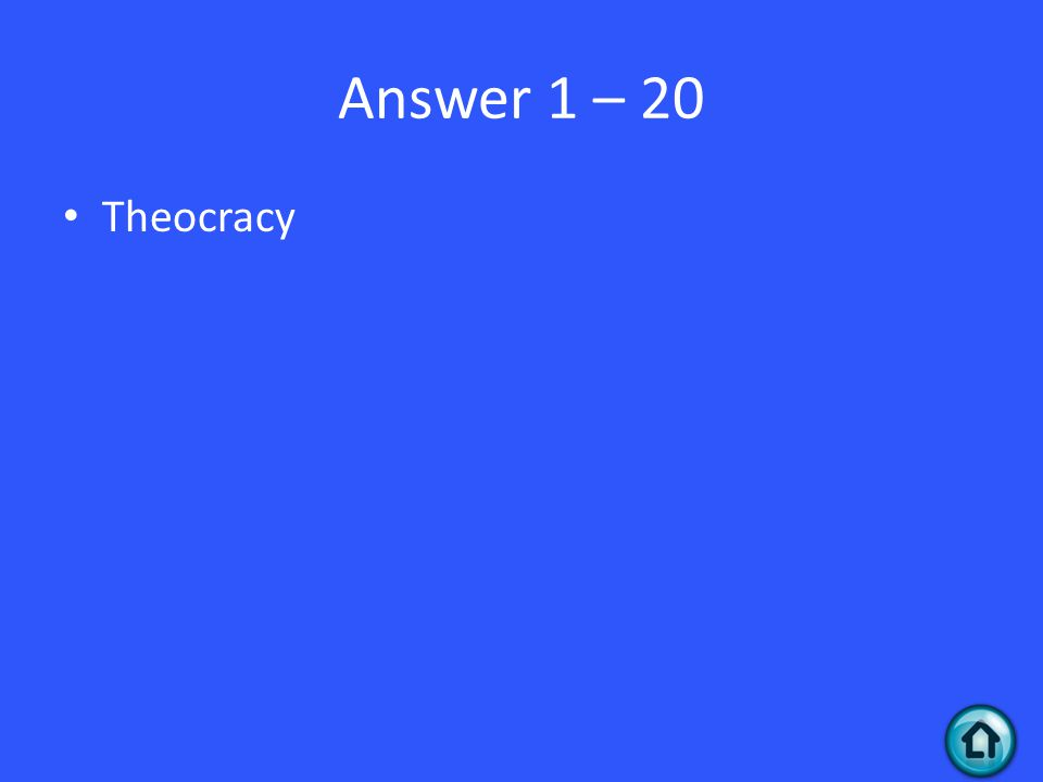 Question 2 - 30 This is the term of when a company has the exclusive possession or control of the supply of products