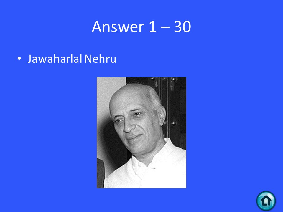 Question 4 - 40 Gandhi is still revered as the father of India, even so much so that his face can be seen on this.