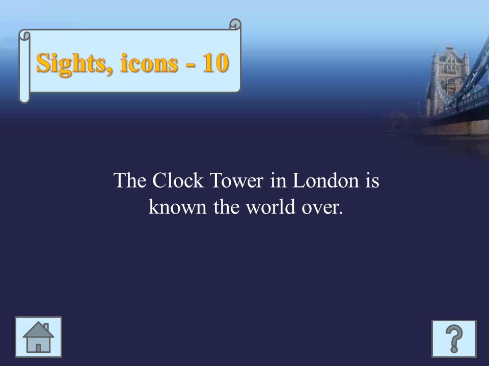 The Clock Tower in London is known the world over.