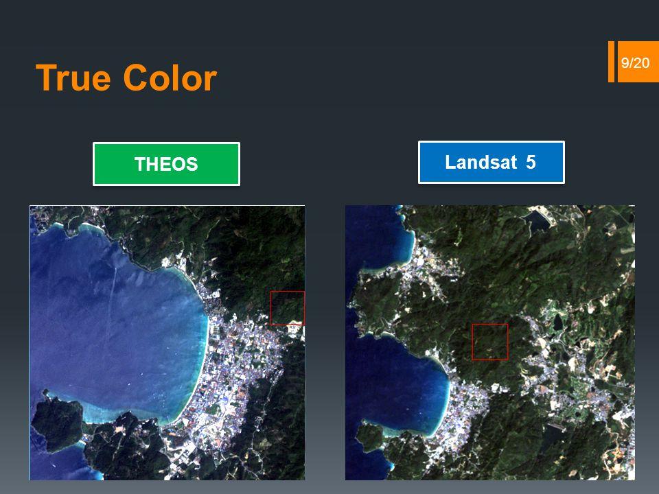 True Color THEOS Landsat 5 9/20