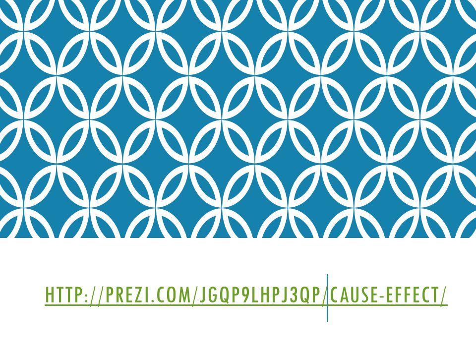 HTTP://PREZI.COM/JGQP9LHPJ3QP/CAUSE-EFFECT/