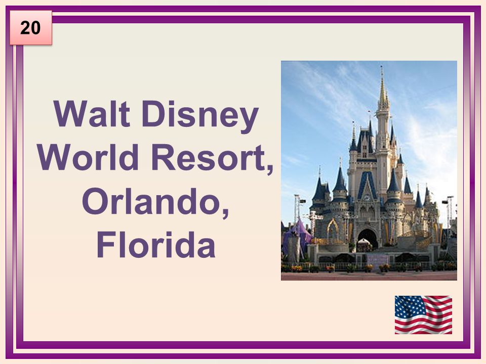 Walt Disney World Resort, Orlando, Florida 20