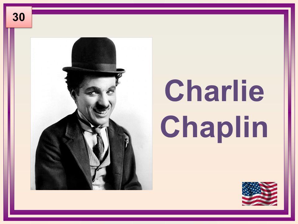 Charlie Chaplin 30