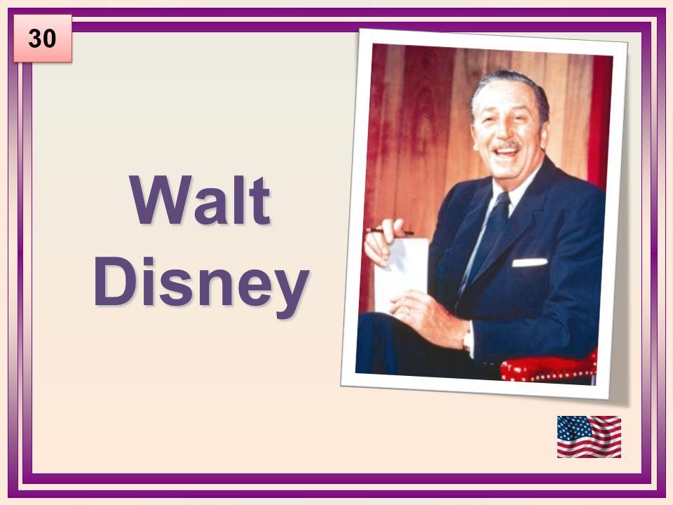 Walt Disney 30
