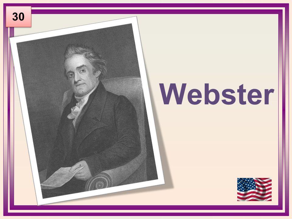 Webster 30