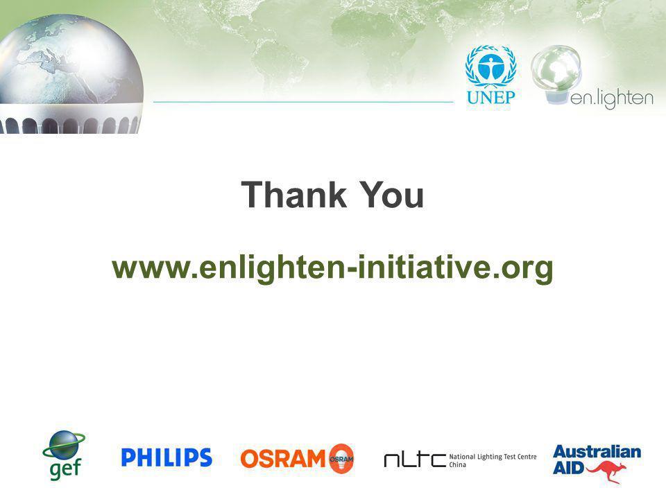 Thank You www.enlighten-initiative.org