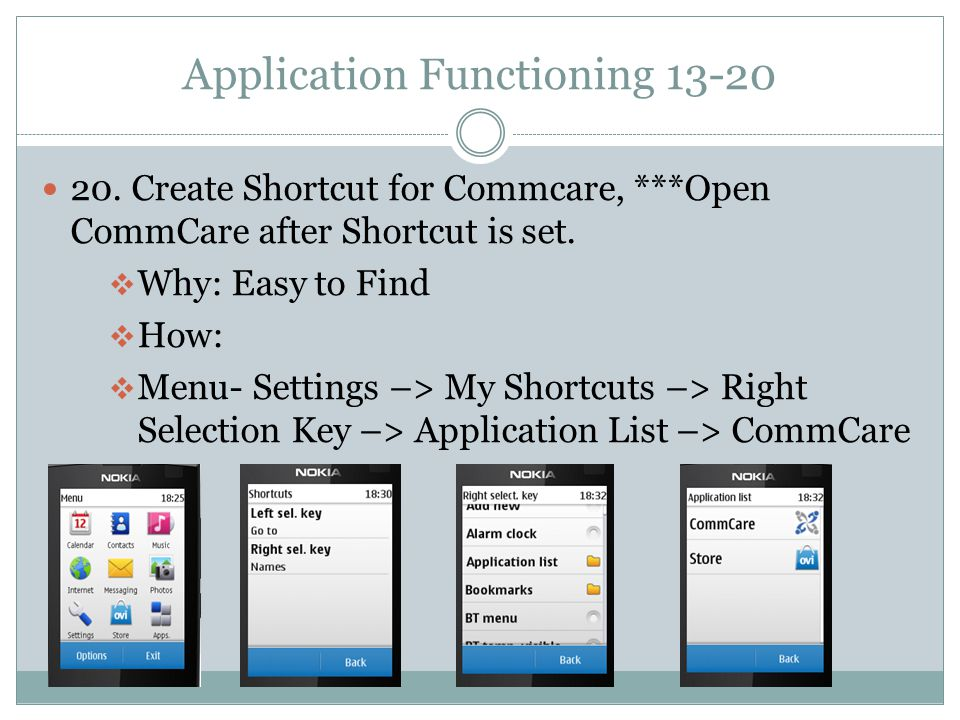 Application Functioning 13-20 20.