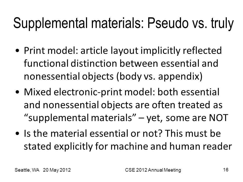 Supplemental materials: Pseudo vs. truly Print model: article layout implicitly reflected functional distinction between essential and nonessential ob