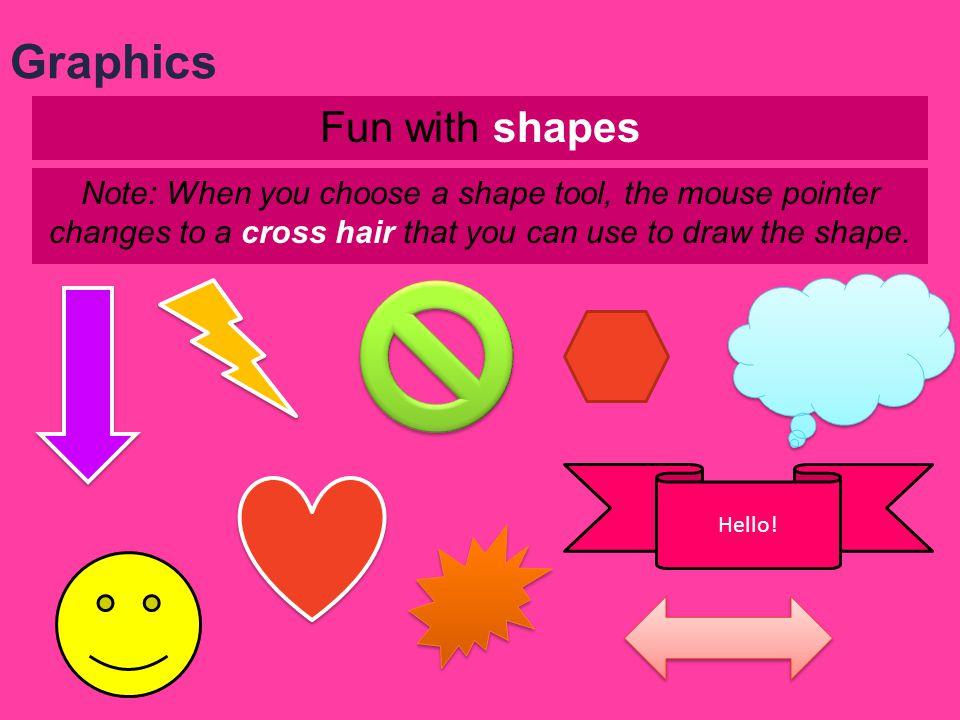 Fun with WordArt (decorative text) Graphics