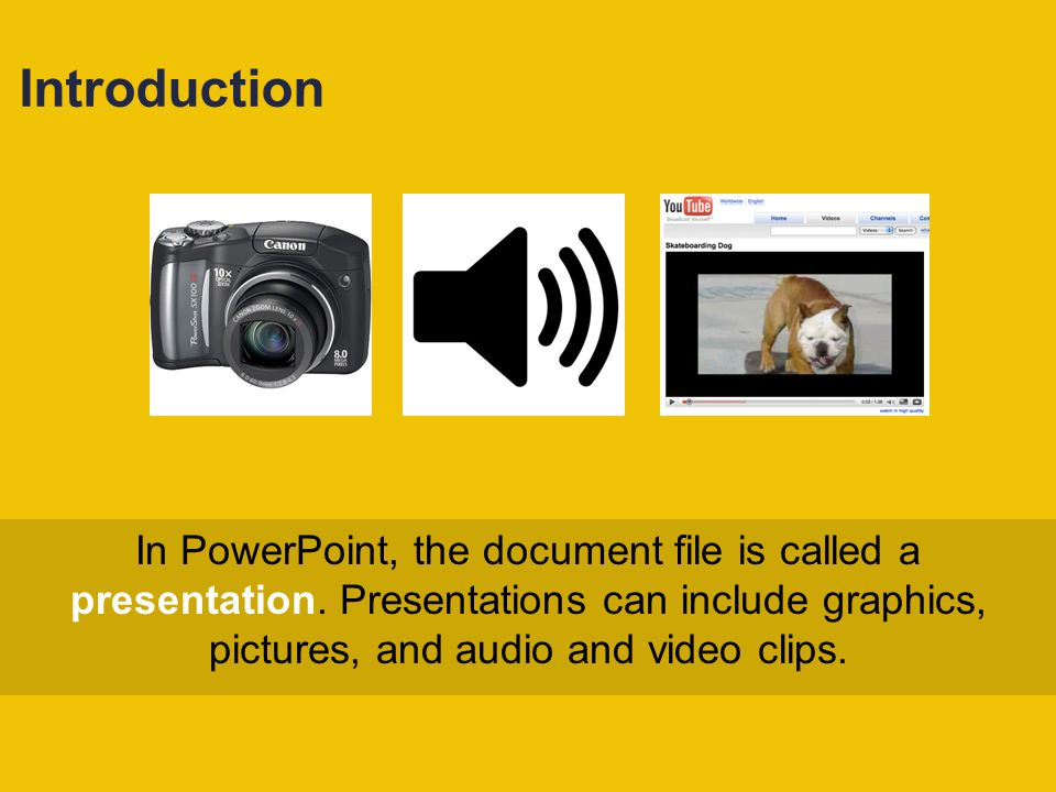 Creating a New Presentation You can create a blank presentation and apply preformatted colors, styles, and layouts called themes.