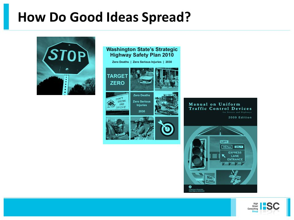 How Do Good Ideas Spread