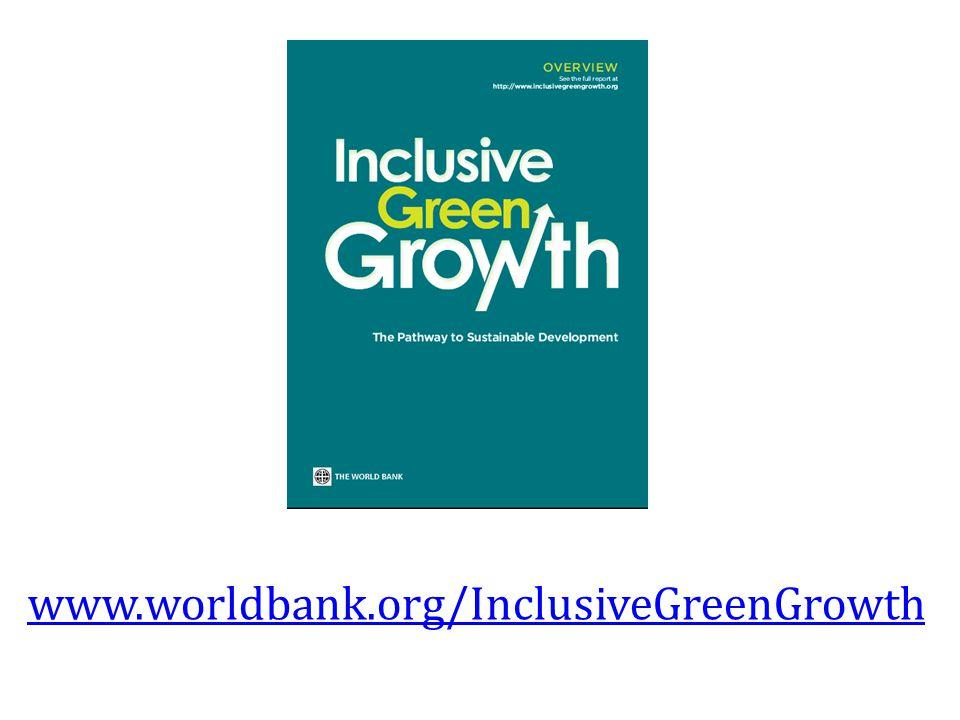 www.worldbank.org/InclusiveGreenGrowth