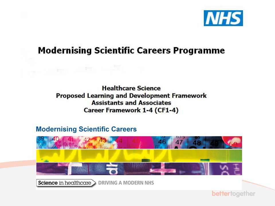 Models of Provision 3 models proposed Model 1: working in a HCS specialism –i.e.