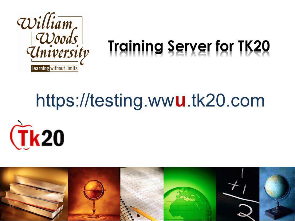 https://testing.ww u.tk20.com