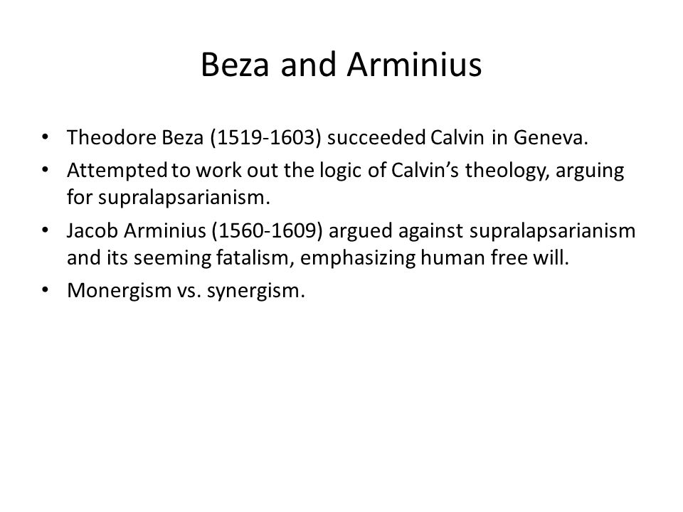 The remonstrance of 1610 and the Synod of Dort The Remonstrance of 1610 detailed five points of disagreement with Calvinist theology.