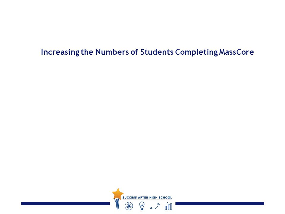 Increasing the Numbers of Students Completing MassCore
