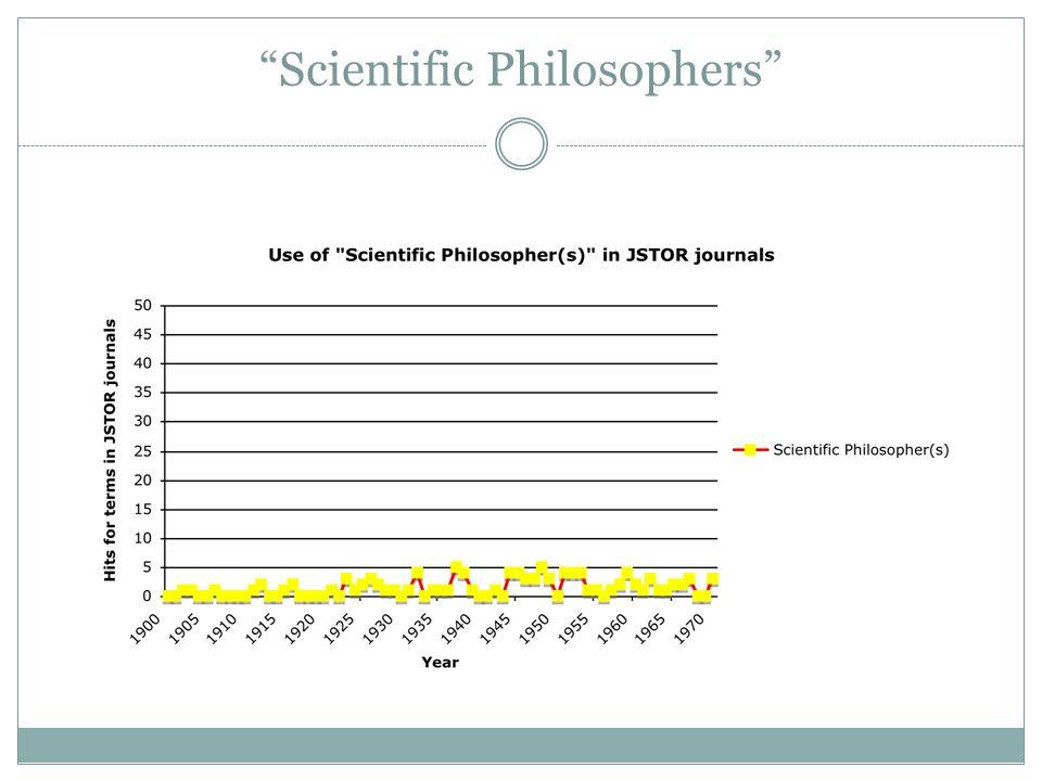 Scientific Philosophers