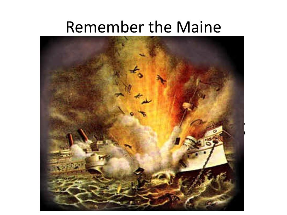 Remember the Maine With this big battleship in the harbor, what could possibly go wrong at 9:40 PM on Feb. 15, 1898?
