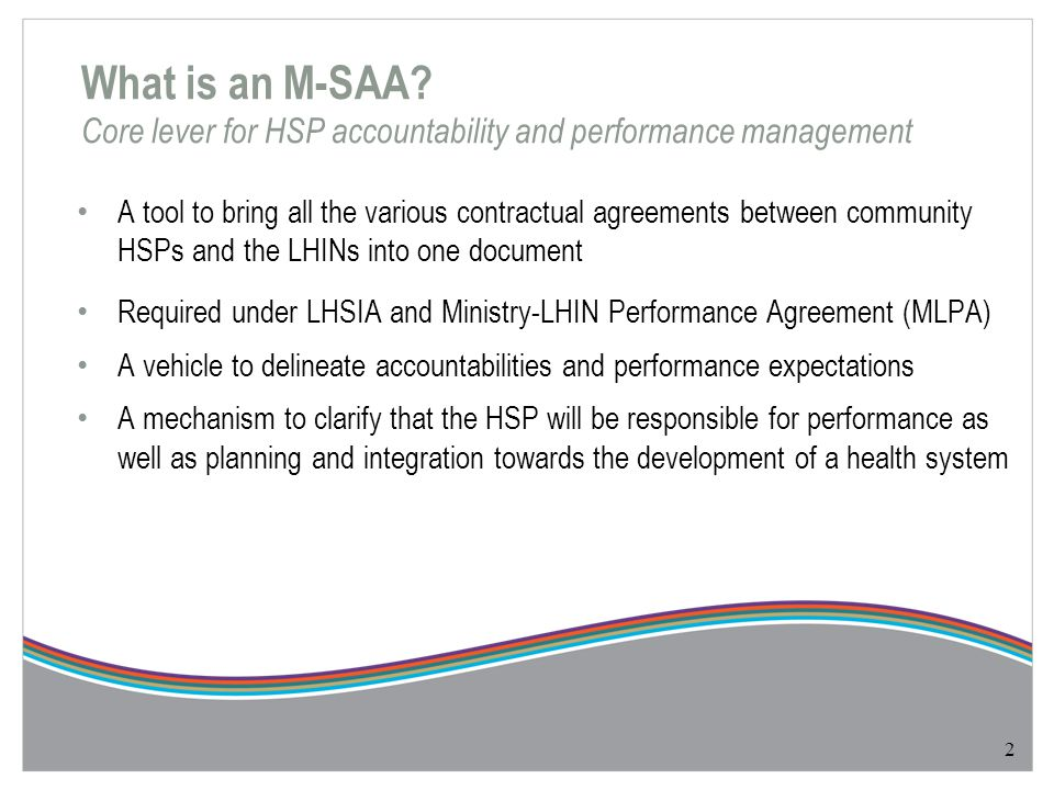 Performance Indicators Why Performance Standards.