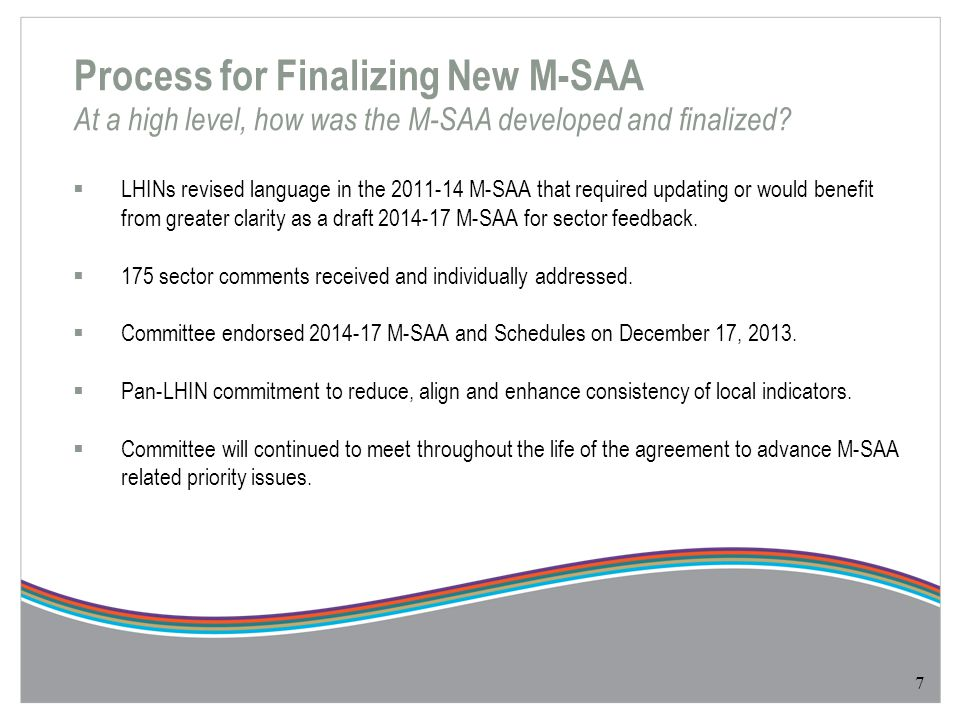 Summary of Main Changes What are the key changes between current and new M-SAA.