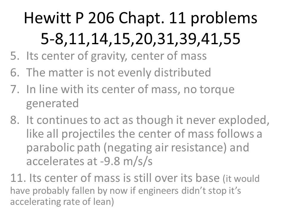 Hewitt P 206 Chapt.