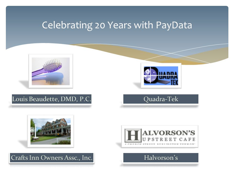 Celebrating 20 Years with PayData