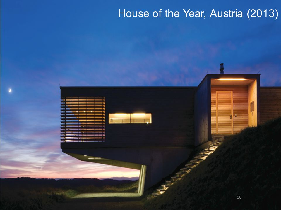 House of the Year, Austria (2013) 10