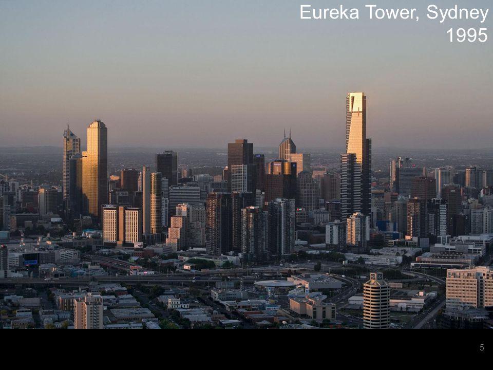 GREENENGINEERSTEAMWORKPERFORMANCEBIMGRAPHISOFTWHY ARCHICADEDUREFERENCES OBJECTS IMPLEMENTATION 6 Eureka Tower, Sydney 1995