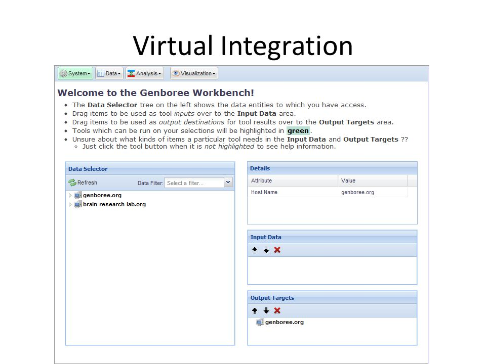 Virtual Integration