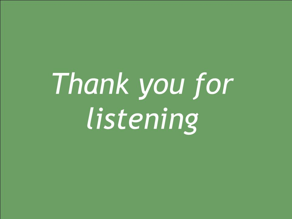 12/01/2015 geo1.0 Thank you for listening