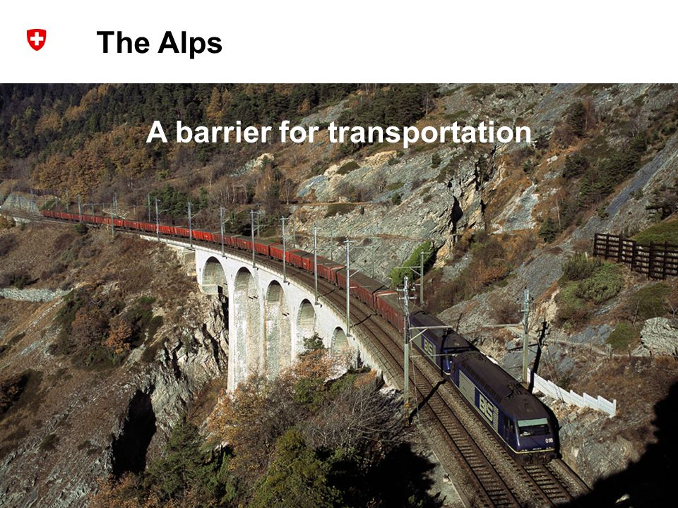3 Dr. R. Sperlich / NETLIPSE Network Meeting 20 th October 2008 The Alps A barrier for transportation